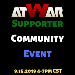 Supporter-Community Event - Take Two - atWar